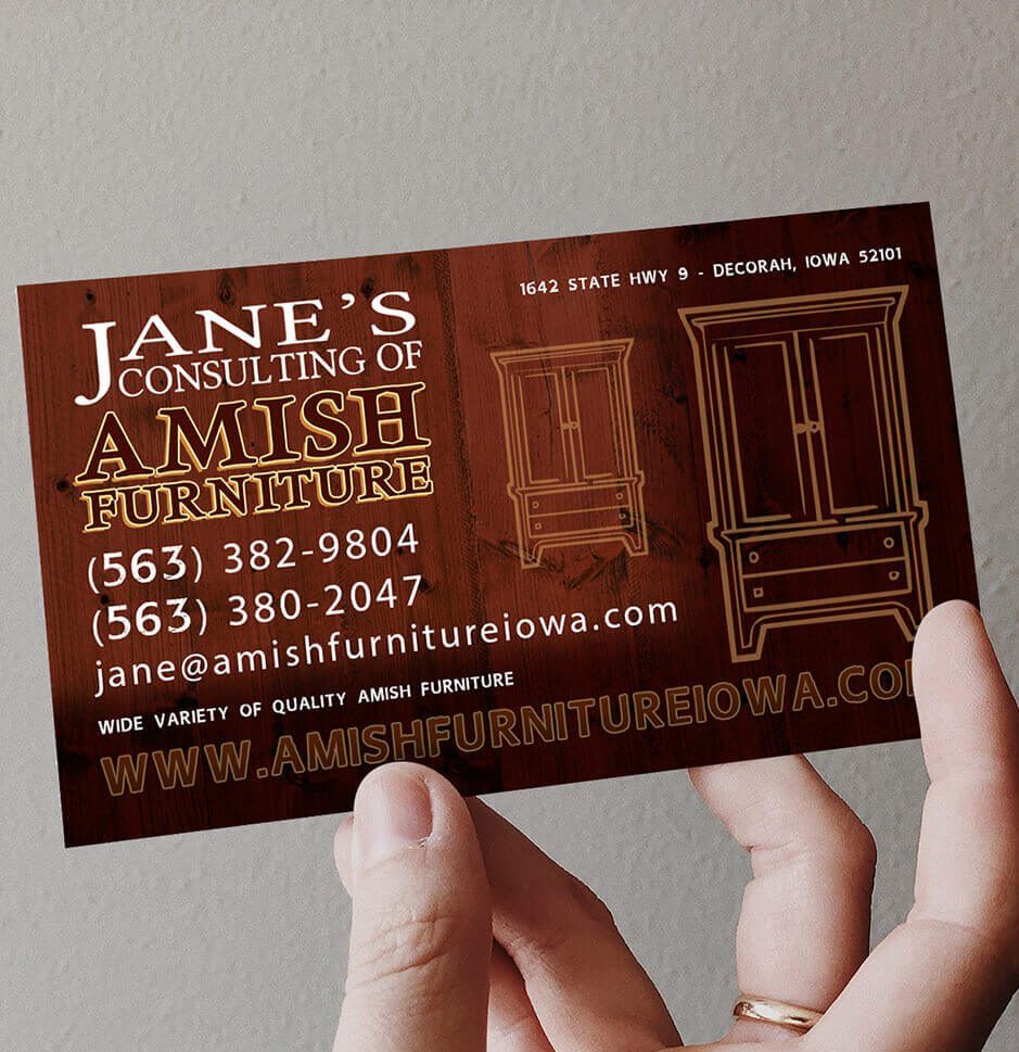 Jane's Consulting of Amish Furniture Gallery Photo